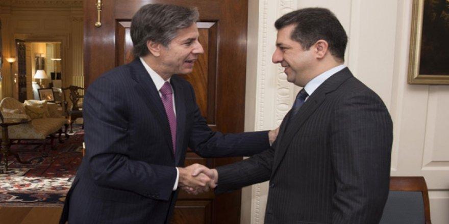 Başbakan, ABD Dışişleri Bakanı Blinken ile görüştü