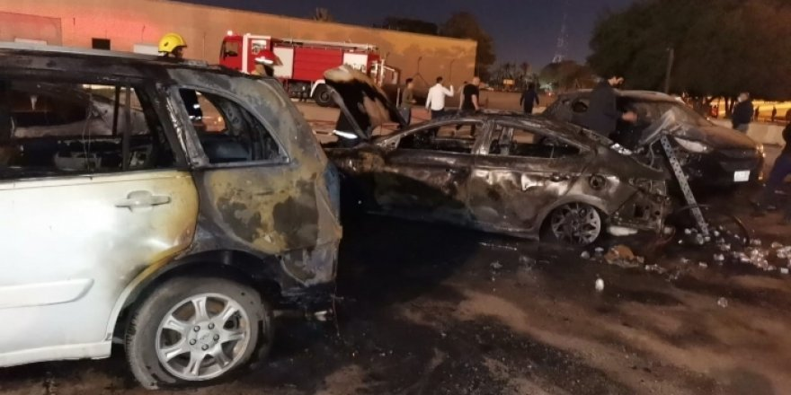Bağdat Büyükelçiliği'ne füze saldırısı yapıldı.