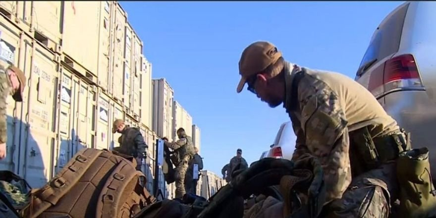 150 Hollanda askeri Erbil Uluslararası Havalimanı'nda