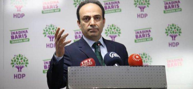 HDP Sözcüsü Osman Baydemir Diyarbakır'da gözaltına alınıp serbest bırakıldı