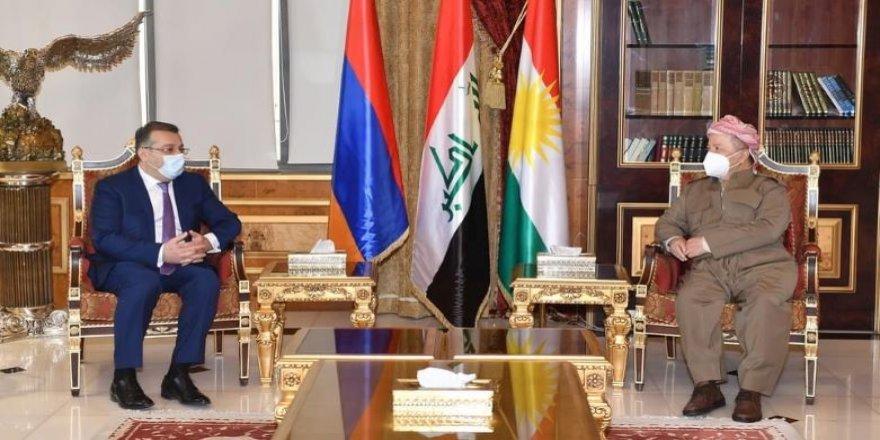Başkan Barzani, Ermenistan Dışişleri Bakanlığı Heyetini kabul etti