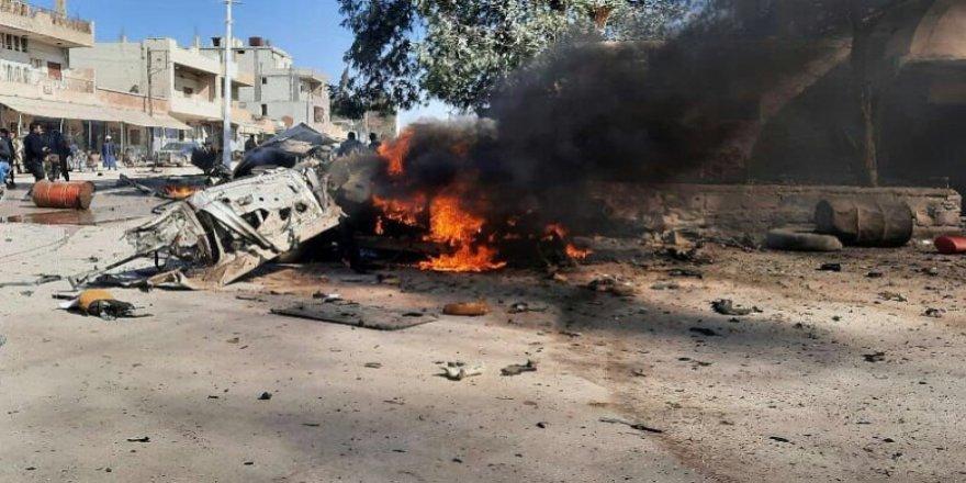 Serekaniye'de bombalı araç saldırısı