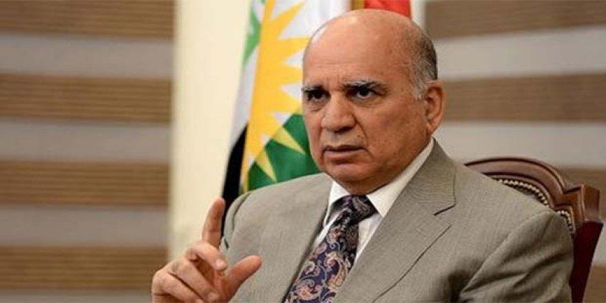 Irak Dışişleri Bakanı Fuad Hüseyin İran'da