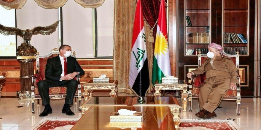 Başkan Barzani, Irak İçişleri Bakanı'nı kabul etti