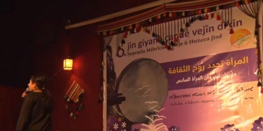 Rojava'da kadın sanat festivali düzenlendi