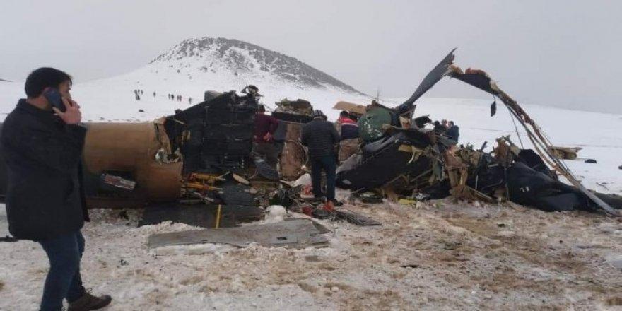 Bitlis: Düşen helikopterde ölen asker sayısı 11'e yükseldi