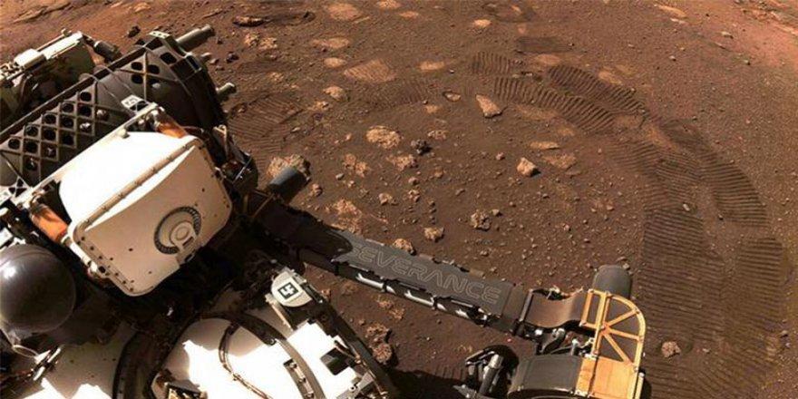 Perseverance Mars'ta ilk test sürüşünü yaptı
