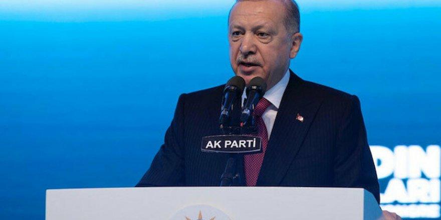 Erdoğan: Türkiye'de kadının adı AK Parti sayesinde var