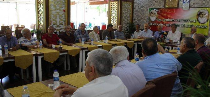 """""""Sömürgeci devlet mezarlarına bile tahammül etmedi"""""""