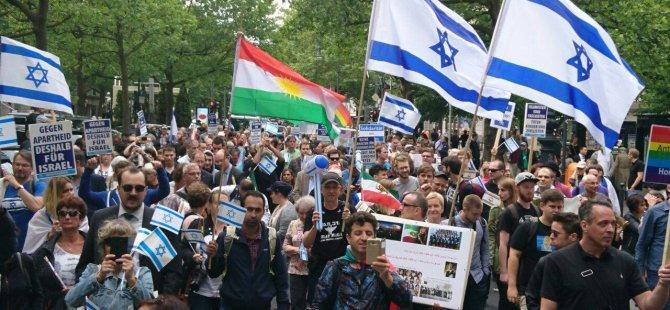 Referanduma destek için Berlin'de Kürtler ayakta