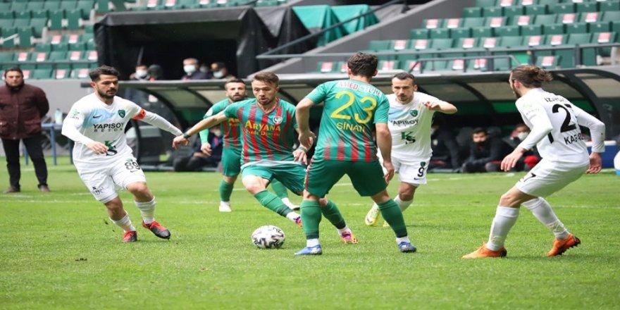 Amedspor, Kocaelispor'u deplasmanda mağlup etti