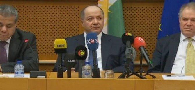 """Barzani: """"Referandum ve bağımsızlık risktir ancak belirsiz bir gelecek daha büyük bir risktir"""""""