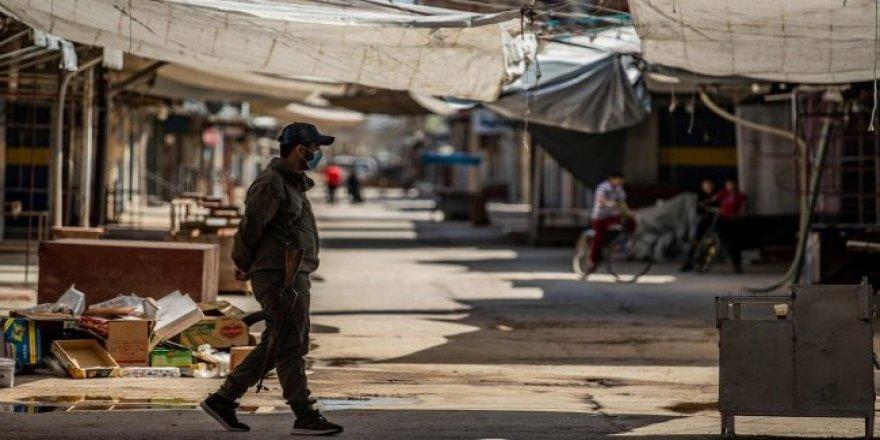 Rojava'da sokağa çıkma yasağı