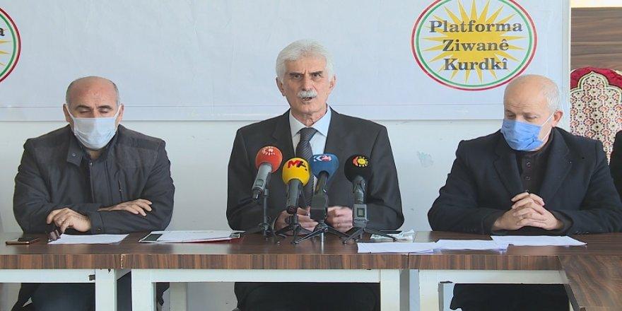 Kürt Dil Platformu'ndan Türkiye'ye anadilde eğitim talebi!