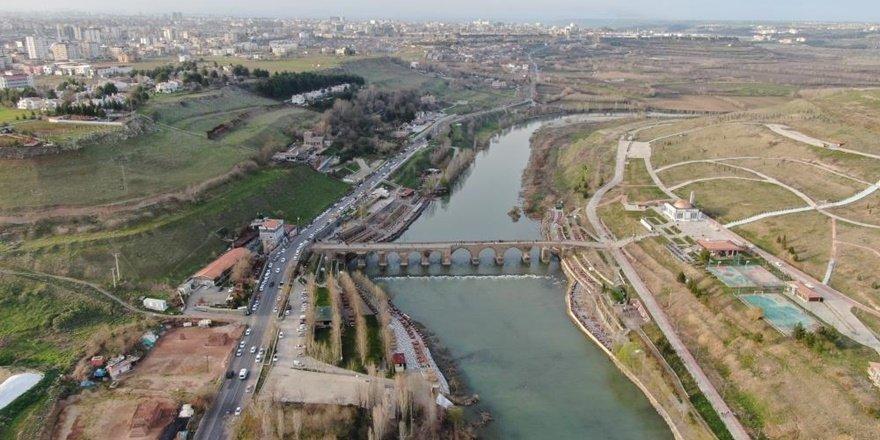 Diyarbakır'ın 'Kültür Mirası' havadan görüntülendi