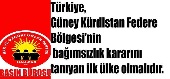 """""""Türkiye her geçen gün daha olumsuz bir rotaya sürüklenmektedir"""""""