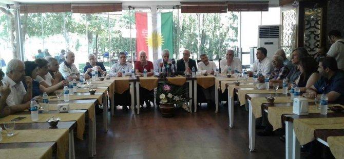 Kurdistani parti başkanları gözaltılara tepki gösterdi