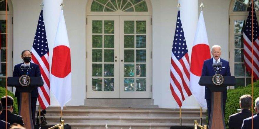 ABD ile Japonya, Çin'e karşı birlikte hareket edeceklerini taahhüt etti