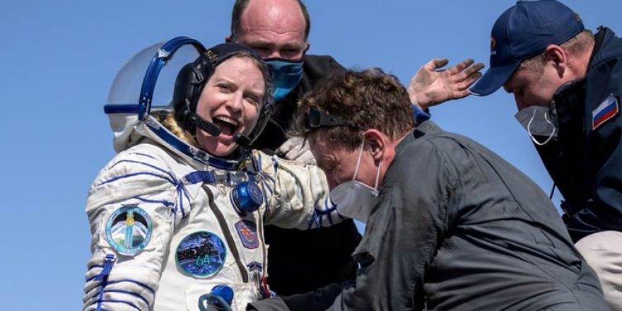 Uzaydan Van Gölü'nün fotoğrafını çeken astronot Kate Rubins dünyaya döndü