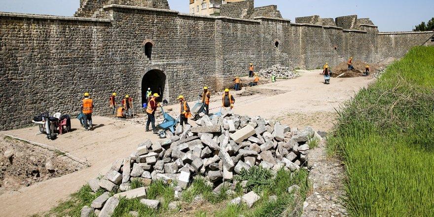 Diyarbakır'da 'Roma yolu' gün yüzüne çıkartılacak