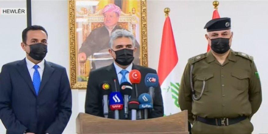Erbil'de Pasaport ve İkametgâh Ofisi açıldı