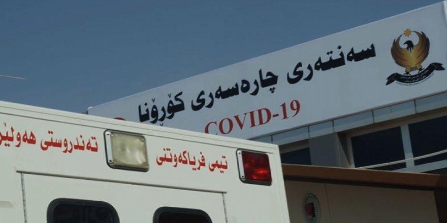 Kürdistan'da koronavirüsten dolayı 15 kişi daha vefat etti