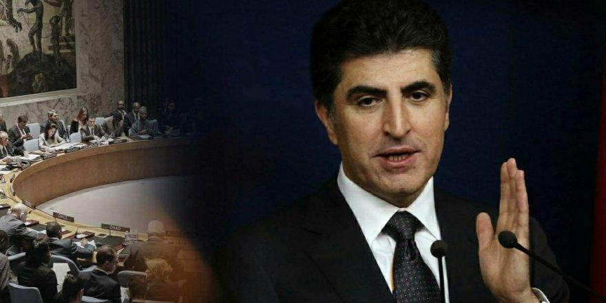 Neçirvan Barzani'nin mektubuna BM Sözcüsü'nden yanıt!