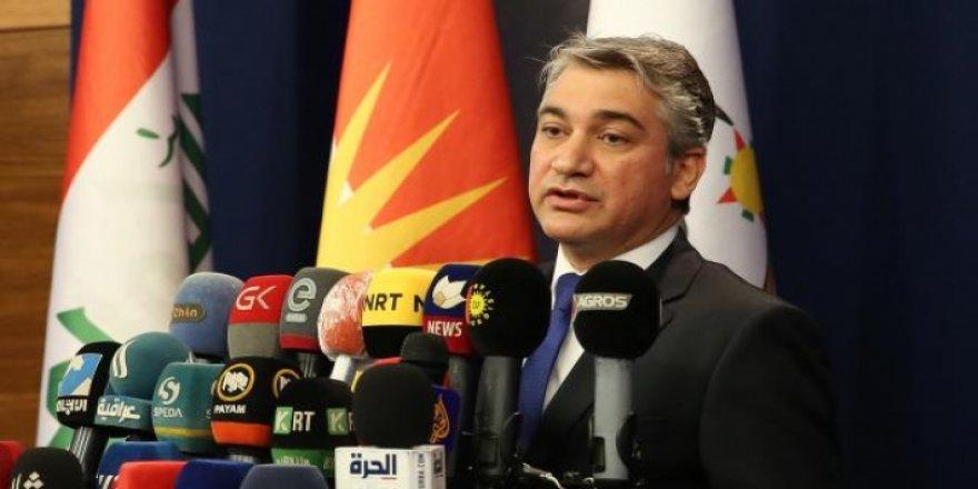 Kürdistan Hükümeti Sözcüsü: İsrail'in Kürdistan'da herhangi bir varlığı yok