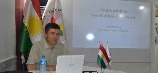 """Prof. Salih Akın:""""Kürtçe isimler kürtler için kimlik ve mesajdir"""""""