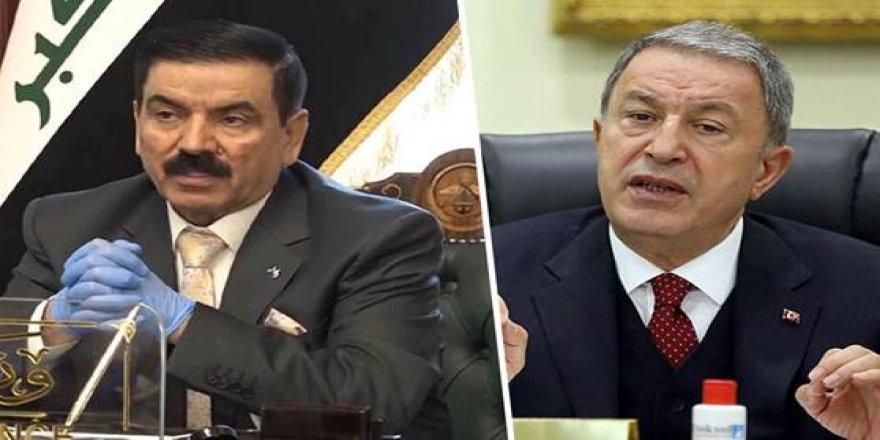 Türkiye ve Irak Savunma Bakanları telefonda görüştü