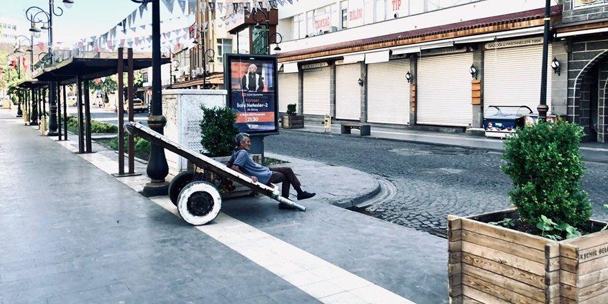 Diyarbakır'da tam kapanmanın 'tam mağdurları'