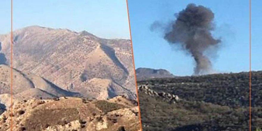TSK uçakları, Süleymaniye kırsalını bombaladı