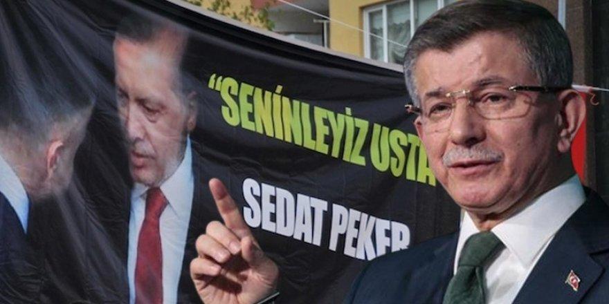 Davutoğlu'ndan Sedat Peker sorusu: Koruma veren siz değil miydiniz?