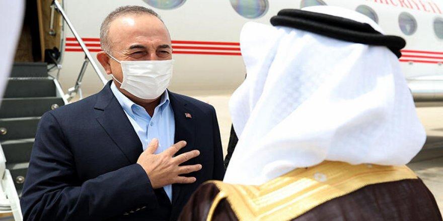 Çavuşoğlu, Suudi Arabistan'a gitti