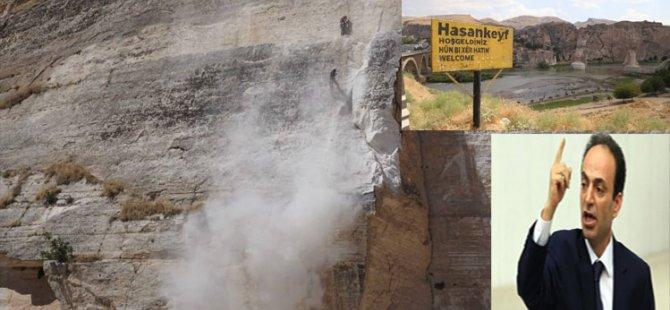 Palmira ile Hasankeyf'in patlayıcılarla yıkılması arasında fark var mıdır?