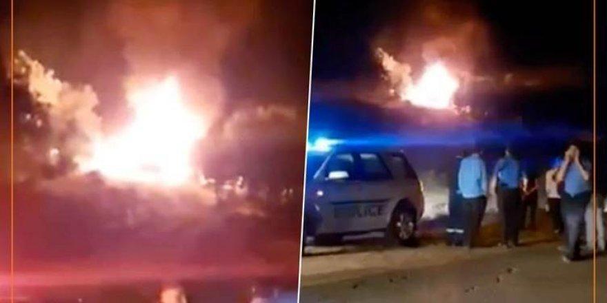 Savaş uçakları Duhok'ta bir aracı vurdu!
