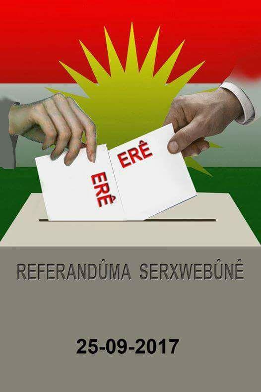 Bağımsızlık Referandumunu Destekliyoruz