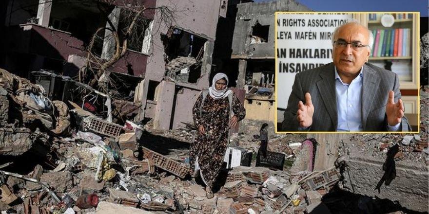 İHD Eş Genel Başkanı: Cizre bodrumları davasında hak kaybı yok