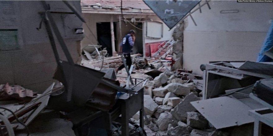 ENKS'den Efrin'deki hastane saldırısına kınama, uluslararası topluma çağrı