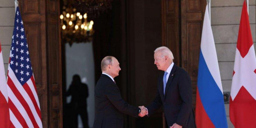 Biden ile Putin Cenevre'de buluştu
