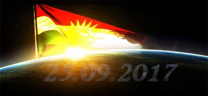 Bakur'dan Başur'a bağımsızlık referandumu kardeşliği