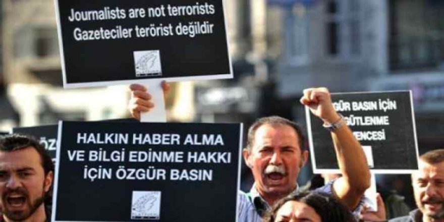 """""""Cesur mücadele olmazsa özgür gazetecilik biter"""""""
