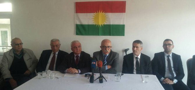 Kuzey Kürdistanlı siyasi partilerden Ankara'ya tepki