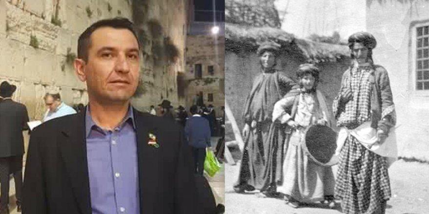 IKB eski Yahudi Temsilcisi ve KJV Başkanı Şerzad Mamnasi: Yahudiler, Allah'ı tanıması için Kürdistan'a sürüldü
