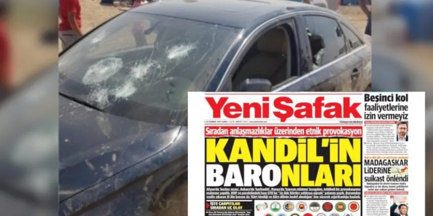 48 barodan 15 baroyu hedef alan Yeni Şafak'a kınama