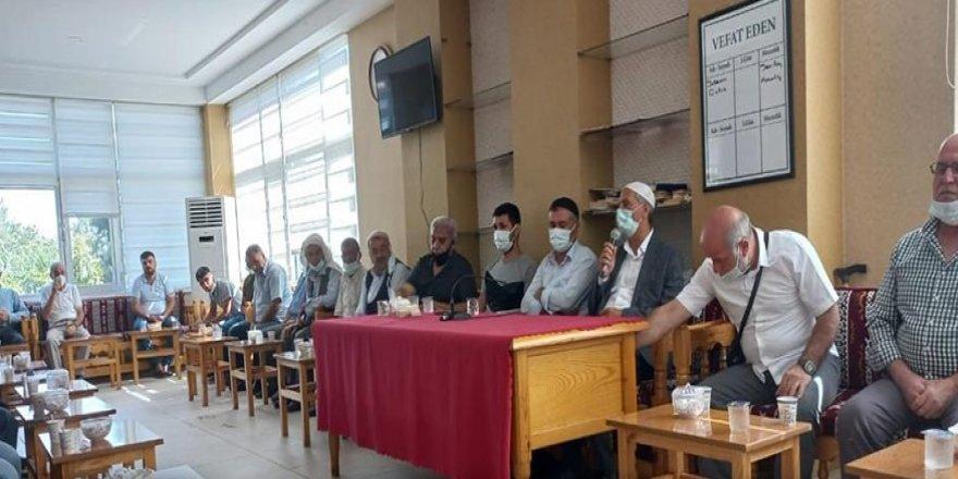 DTSO'dan taziye evlerine 'Aşı ol' ziyareti