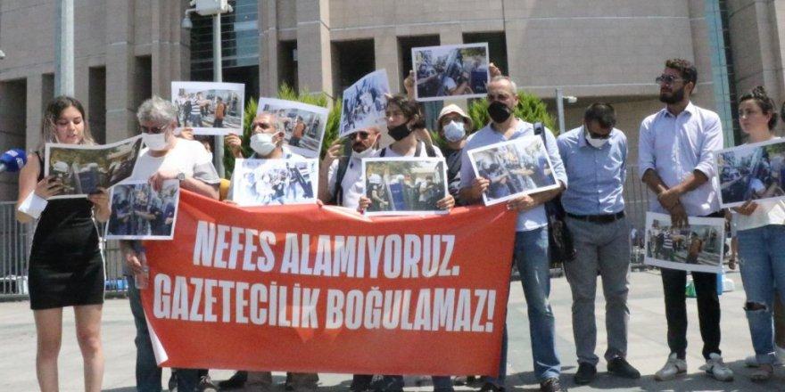 Gazeteciler polis şiddetine yönelik suç duyurusunda bulundu