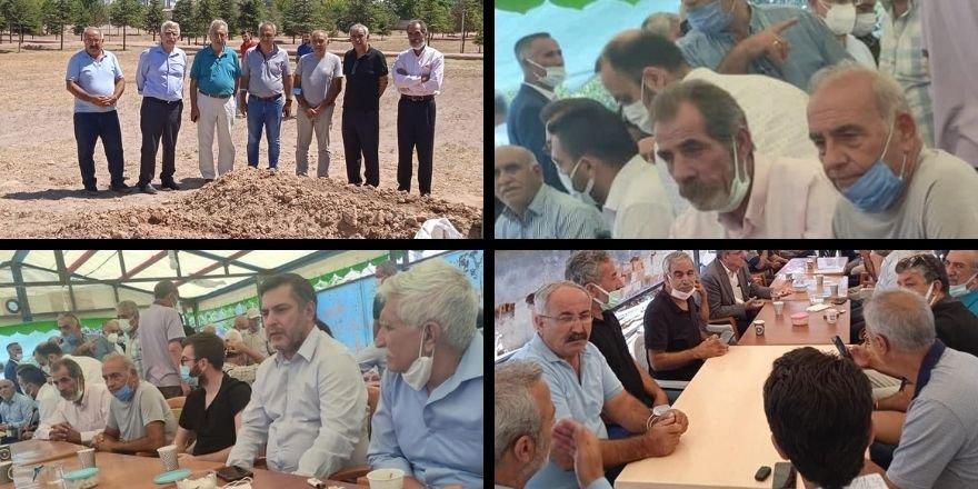 PSK ve PAK Heyeti Konya'da Dedeoğulları Ailesi'ne Başsağlığı Dilediler