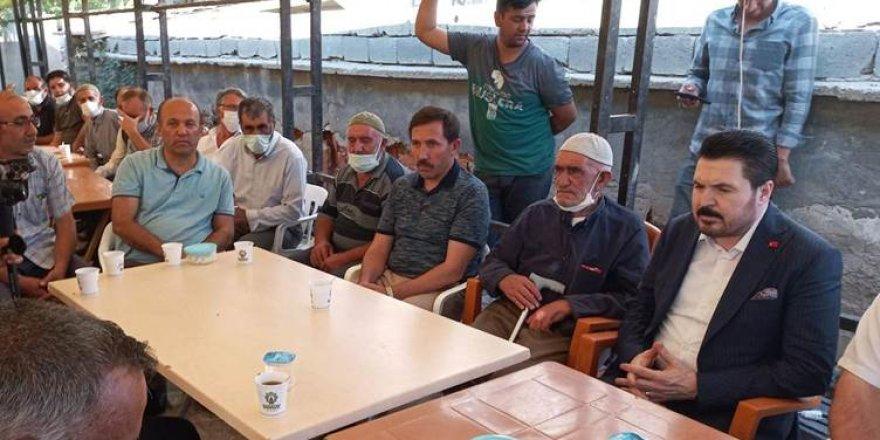 Konya'daki taziyeye katılan Savcı Sayan'a tepki