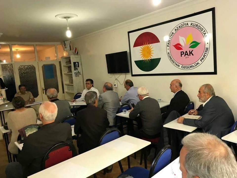 PAK Parti Meclisi Diyarbakır'da Toplandı